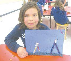 Joussard School – Grade 1s making daffodils