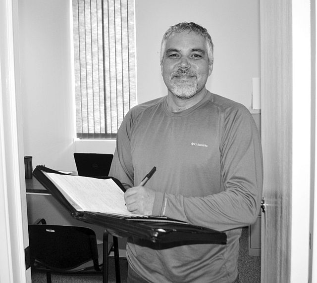High Prairie and Area Chamber of Commerce executive director Rodney Gainer sets up the chamber's office in the Town of High Prairie civic building. The office is open Tuesday to Thursday from 10 a.m. to 3 p.m. To make an appointment, email him at office@hpchamber.net.