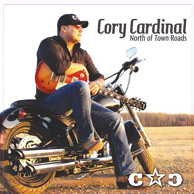 Cover of the first CD (compact disk) by Cory Cardinal from Kinuso.