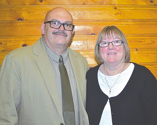 Keith Williams and his wife Lynne became the new pastor couple at Bethel Baptist Church May 1.
