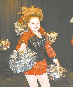 Mischa Deering dances in Cruisin' for a Bruisin' which won three silver awards at recent dance festivals.