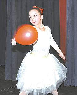 Hana Sharkawi has only one of the 99 Red Balloons which the lyrical dance is named for.