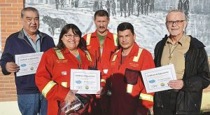 Volunteers thanked for building community
