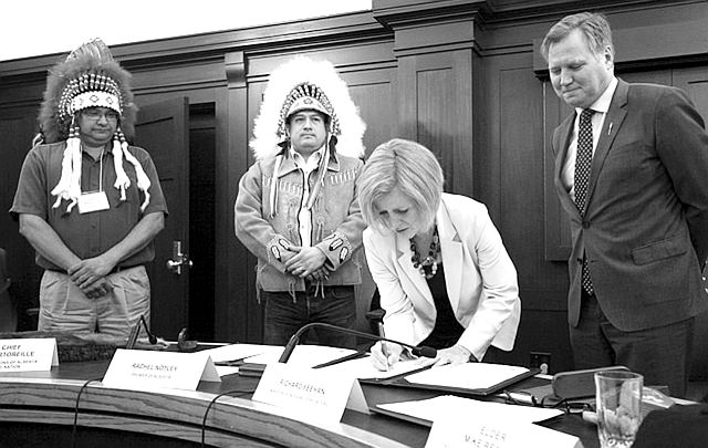 Historic Agreement Inked