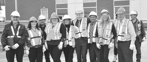 PIC – Minister Hoffman tours hospital