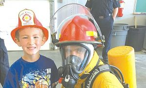 Joussard School – Students learn safety during trip to fire hall