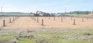 PIC – Site preparation begins for Peavey Mart