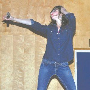 Hailee Halaburda danced and sang at Primavera. She is one of many who enjoys performing.