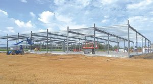 PIC – Peavey Mart progresses