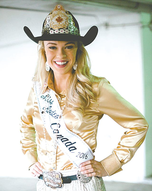 Miss Rodeo Canada Samantha Stokes