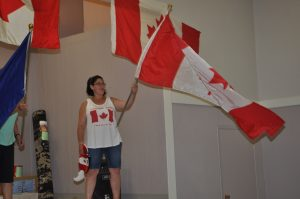 Canada Day celebration in Joussard