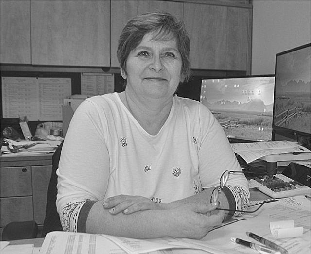 Terri Wiebe, new treasurer for the Town of High Prairie.