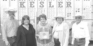 Painted Smile inducted at local rodeo