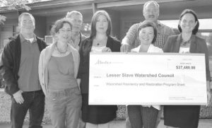 LSLWC receives $37,480 grant from province