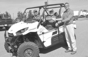Masson wins ATV raffle