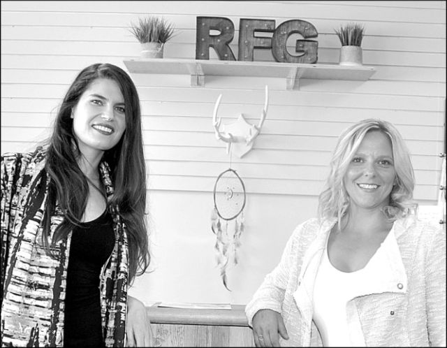 Lisa Baroldi, left, and Kristen Prpich, owners of Rural Fashion Girl, invite everyone to the Rural Women's Flowers & Fashion Gala Sept. 16.