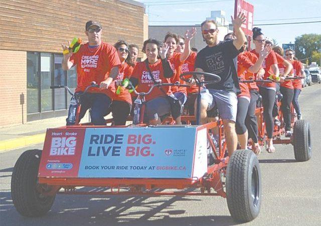 PICs – Big Bike makes return