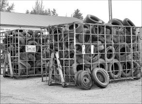 Alberta tire recycling effort hits 100 million