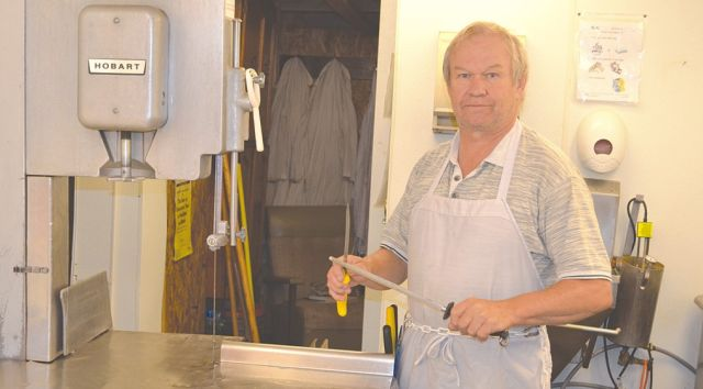 Blaine Bebeau and his daughter, Lorriann Bebeau, provide meat cutting and wrapping services for wild game and cattle carcasses.