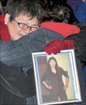 Tears flow at annual vigil