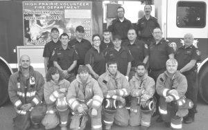 High Prairie fire department records fewer calls