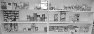 Food bank shelves hungry for donations