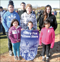 Students support Terry Fox en masse