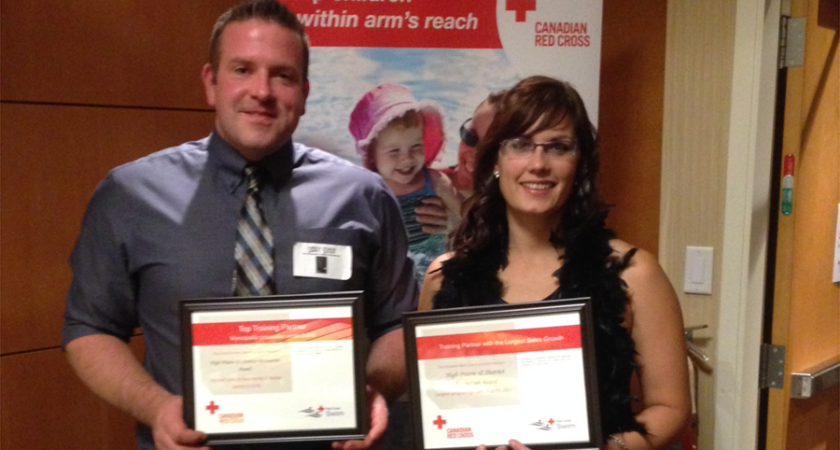 High Prairie pool wins 2 Red Cross awards