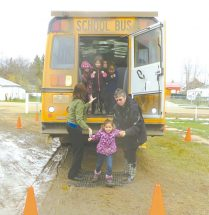 Students learn bus safety