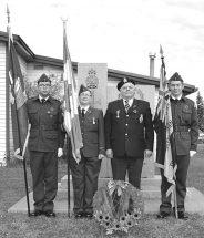 PIC – Cadets serve McLennan