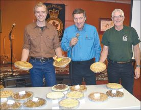 Wilderness camp raises $16,000 with pies and comedy