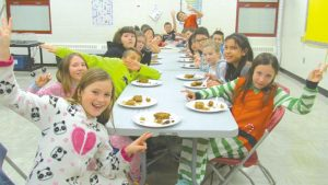 HPE – Grades 5s enjoy visit with students from England