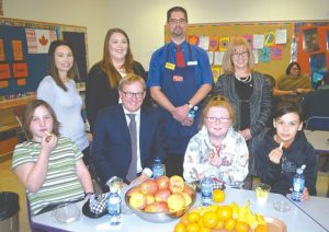Education minister promotes nutrition at HPE
