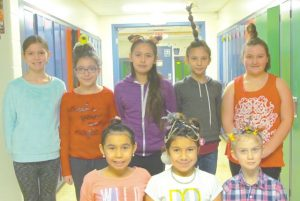 HPE students break out funky hairdos