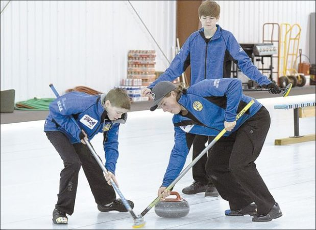 Falher Curling Club hosts PCA Masters and Juvenille Boys and Girls Playdowns