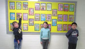 HPE – Grade 3s mix art with social