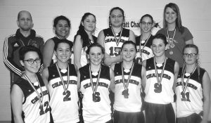 Pratt women win bronze at zones