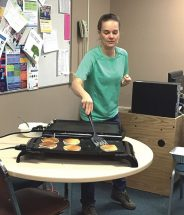 HPE – Staff turn in lesson plans for spatulas