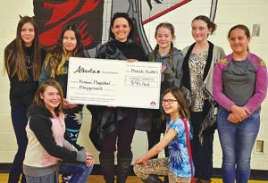 Kinuso playground society gets $40,000+