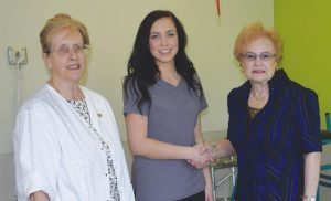 Student returns home for practicum