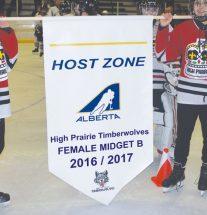 High Prairie teams at Provincials