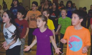 PICs – HPE students dance the day away