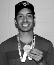 Larson wins silver in track and field finals