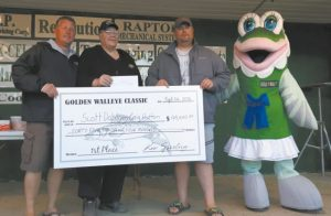 Register now for the 29th annual Golden Walleye Classic