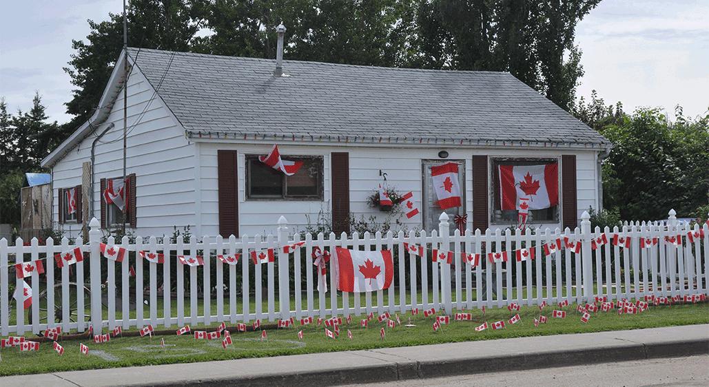 Canada Day Decoration