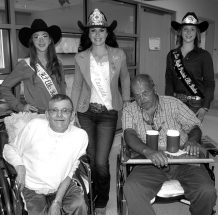 PIC – Rodeo royalty tours the town
