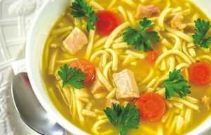 Chicken soup is good for more than the soul