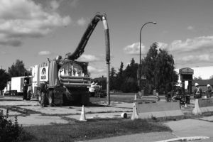 Clean Up work continues at old fuel stations