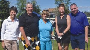 Big Lakes County Charity golf tournament on par!