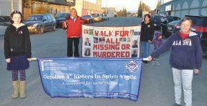 Tears flow during annual Sisters in Spirit Vigil